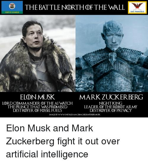Cosa pensano Elon Musk e Mark Zuckerberg dei robot?