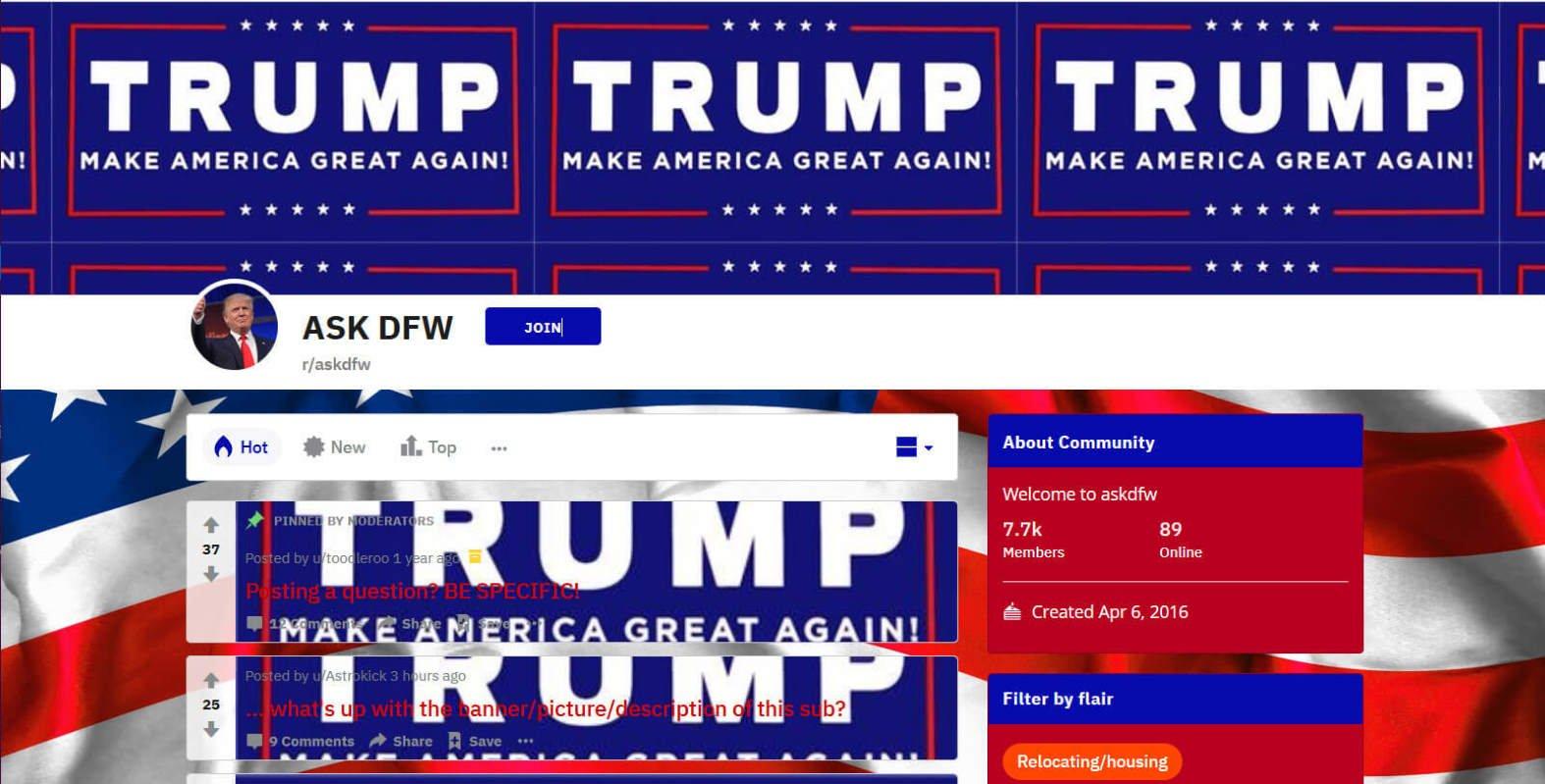 Reddit colpito da un hack coordinato che promuove la rielezione di Trump