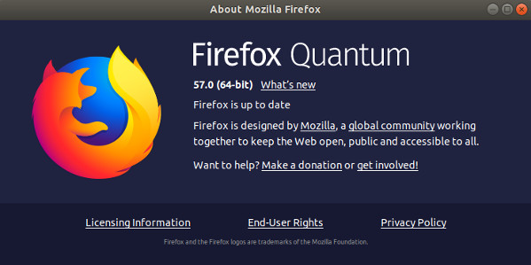 Ben arrivato Firefox 57, il migliore di sempre