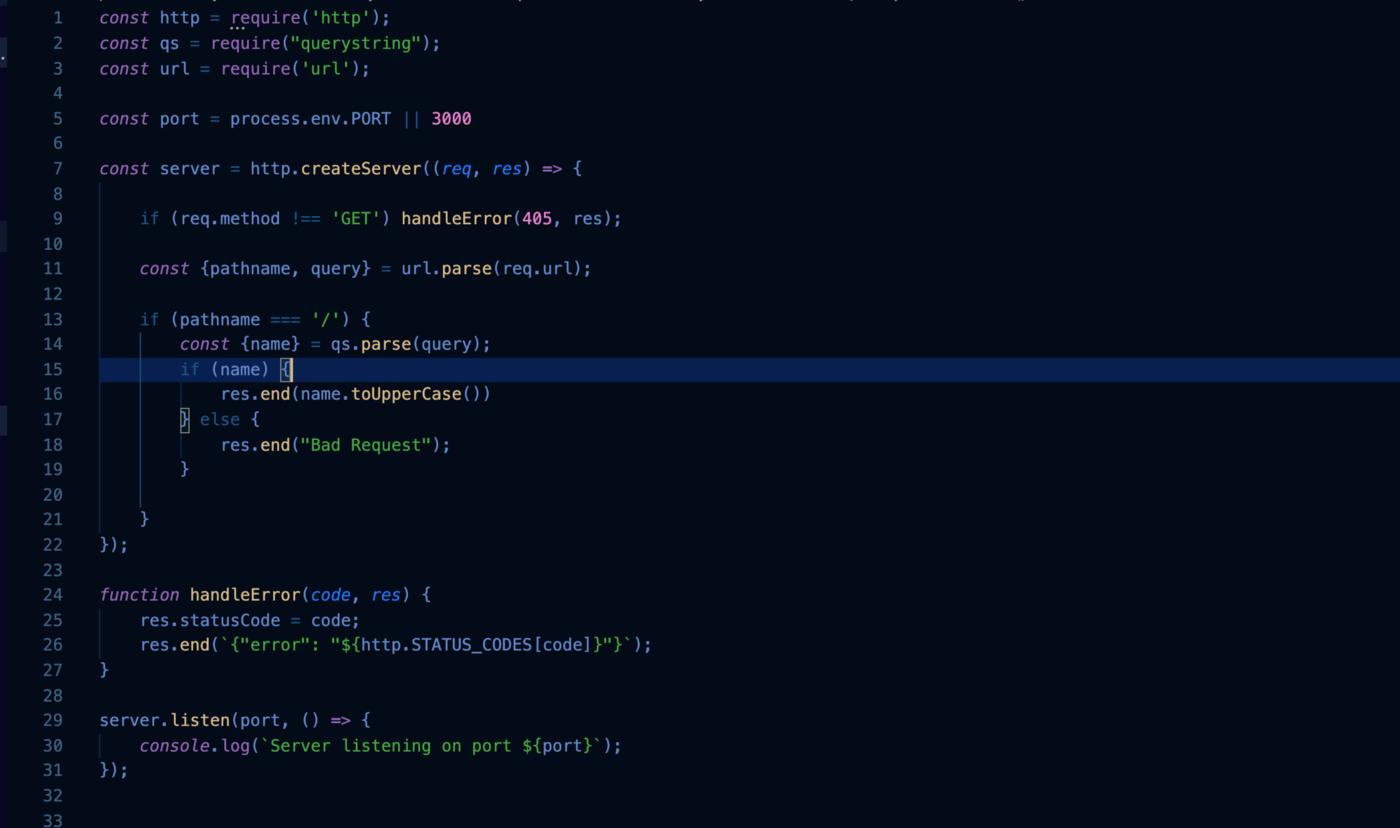 Come creare un semplice NodeJS Rest API con il modulo HTTP