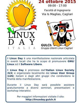 Linux Day 2015  a Cagliari