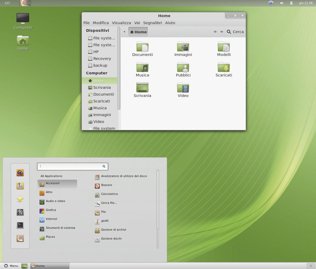 GNOME Shell 3,8 Migliora il blocco dello schermo