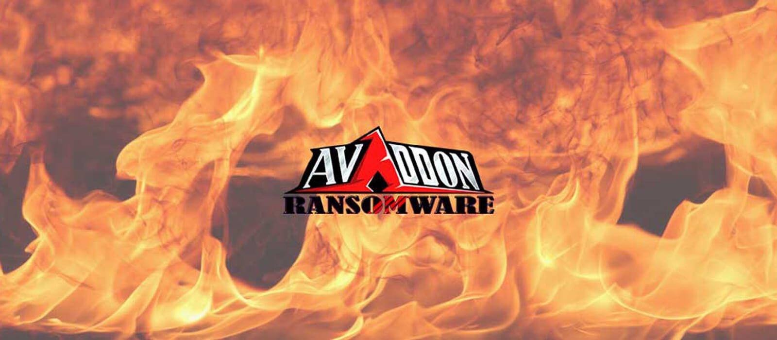 Avaddon ransomware lancia un sito per estorcere soldi alle vittime