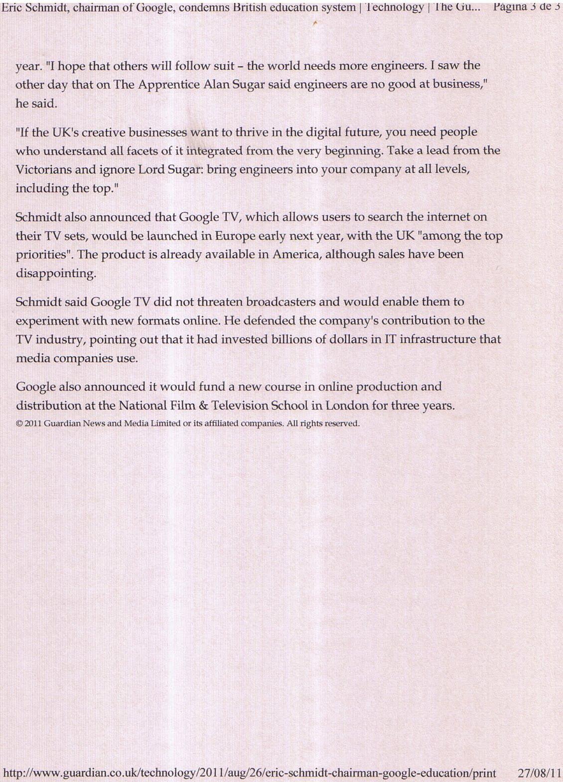 WikiLeaks: Particolari di riunioni tra Schmidt di Google e Assange