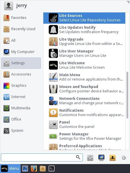 Novità in Linux Lite 3.6