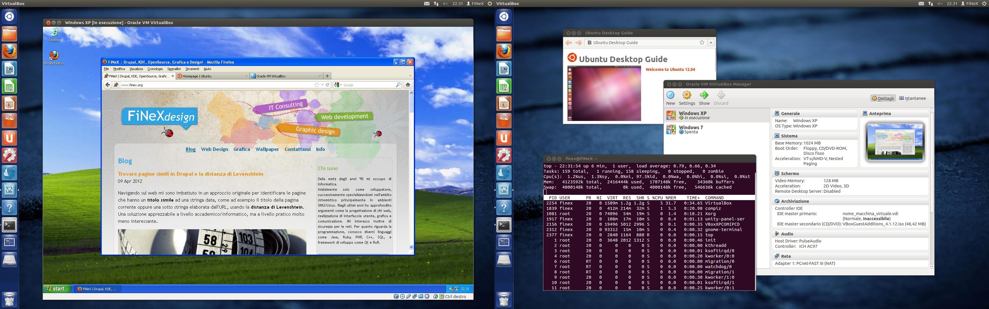Creare Design di Windows 8 in Ubuntu e Debian con un solo click